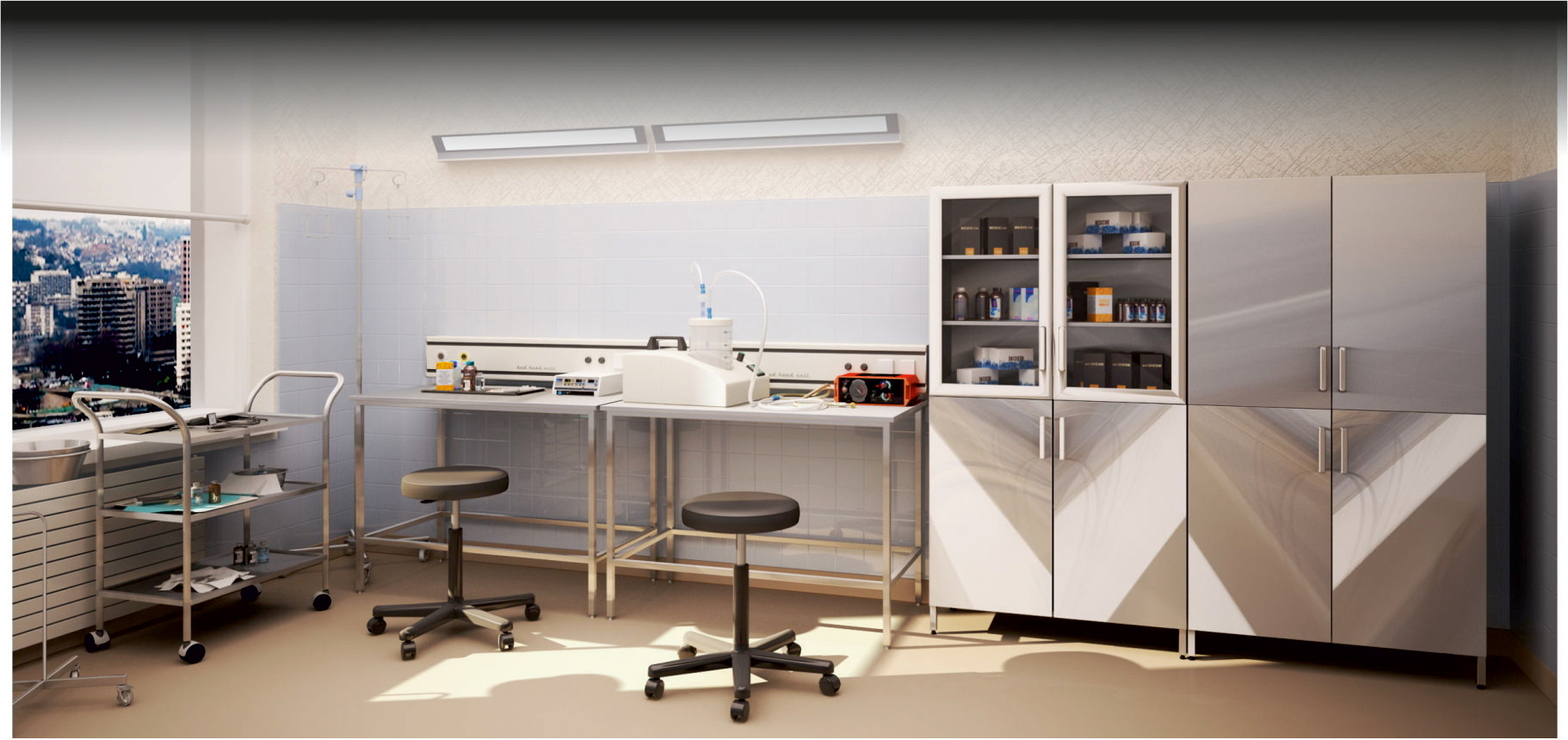 All StaInless Steel HospItal EquIpments